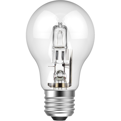 BEC HALOGEN ECONOMIC BULB TRANSPARENT E27 60W 220V